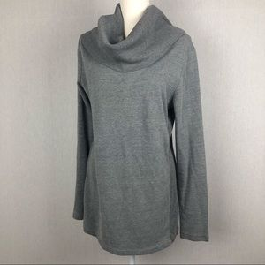 Converse Gray Cowl Neck Sweater Size XL